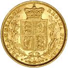 United Kingdom / Sovereign 1881 Shield - reverse photo