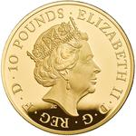 United Kingdom / Gold Five Ounces (5 oz) - obverse photo