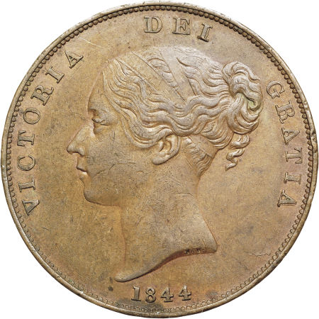 Penny 1844: Photo Great Britain 1844 penny