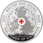 United Kingdom / Five Pounds 2020 Red Cross / Silver Proof FDC - reverse photo