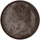Shilling 1821: Photo Coin - Shilling, George IV, Great Britain, 1821
