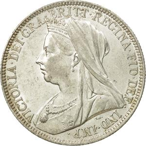 United Kingdom / Florin 1901 - obverse photo