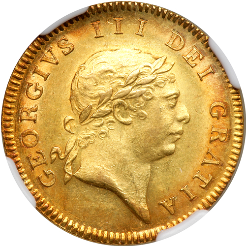 Half Guinea 1811: Photo Great Britain 1811 1/2 guinea