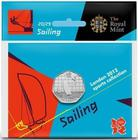 United Kingdom / Fifty Pence 2011 - London 2012 - Sailing / Specimen in card - reverse photo