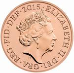 United Kingdom / Two Pence 2015 (Fifth Portrait) - obverse photo