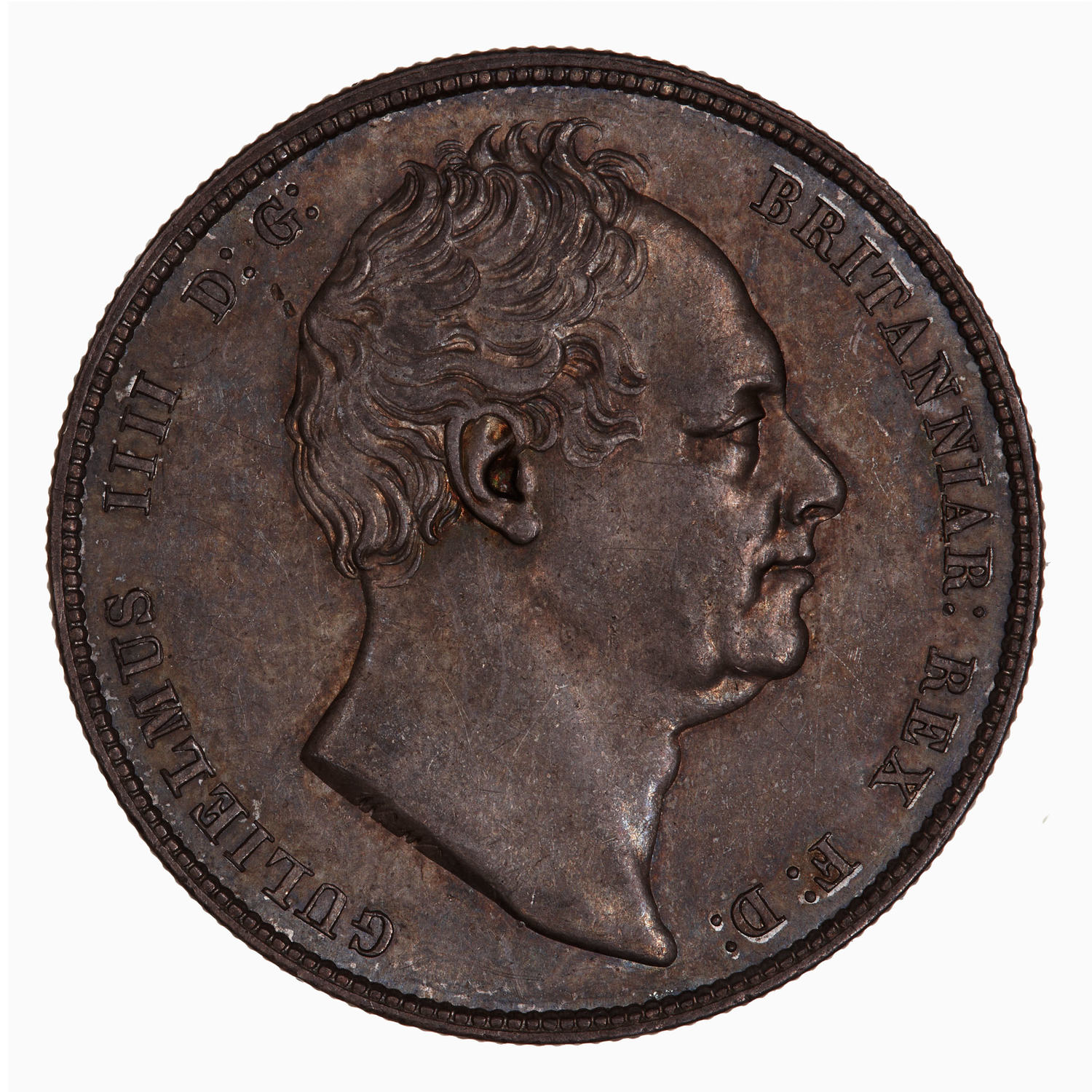 Halfcrown 1837: Photo Coin - Halfcrown, William IV, Great Britain, 1837
