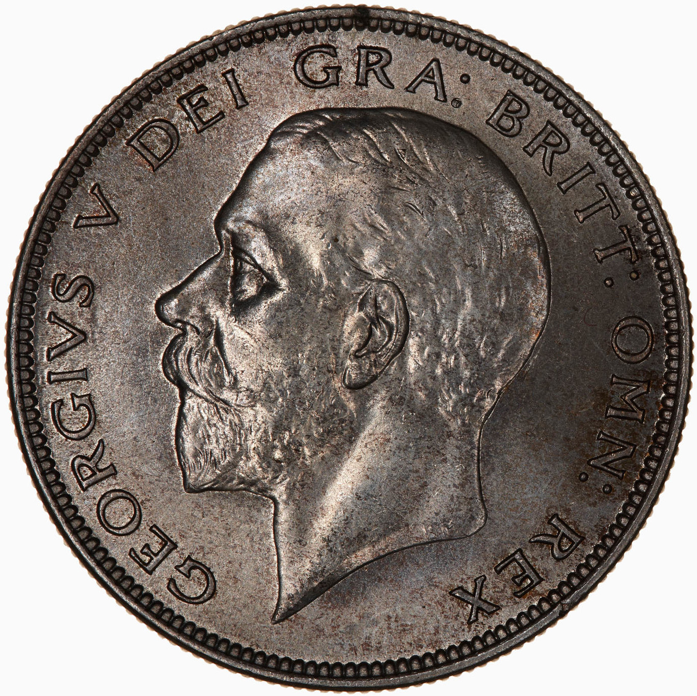 Halfcrown 1936: Photo Coin - Halfcrown, George V, Great Britain, 1936