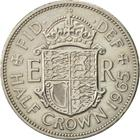 Halfcrown 1965: Photo 1965 Elizabeth II British Half Crown