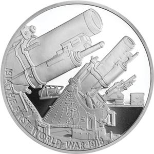 United Kingdom / Five Pounds 2014 Howitzers - reverse photo