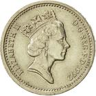 United Kingdom / One Pound 1992 Oak Tree and Diadem - obverse photo