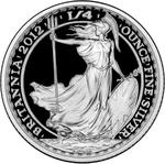 United Kingdom / Silver Quarter Ounce 2012 Britannia - reverse photo