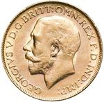 United Kingdom / Sovereign 1922 - obverse photo