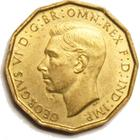 United Kingdom / Threepence 1942 (Brass) - obverse photo