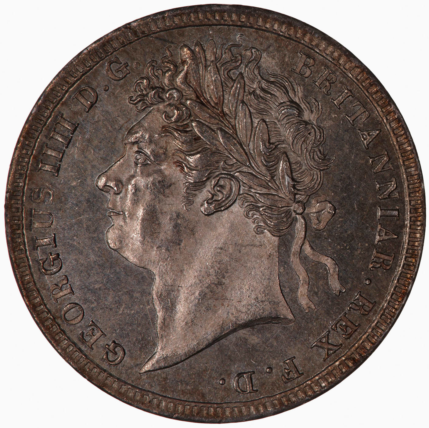 Maundy Threepence (Pre-decimal): Photo Coin - Threepence, George IV, Great Britain, 1827