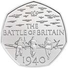 United Kingdom / Fifty Pence 2019 Battle of Britain (NCLT) - reverse photo