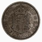 Halfcrown 1958: Photo Coin - Halfcrown, Elizabeth II, Great Britain, 1958