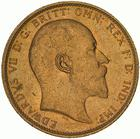 United Kingdom / Sovereign 1909 - obverse photo