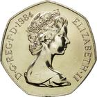 United Kingdom / Fifty Pence (Large) - obverse photo