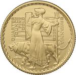 United Kingdom / Gold Quarter Ounce 2006 Britannia - Guardian - reverse photo