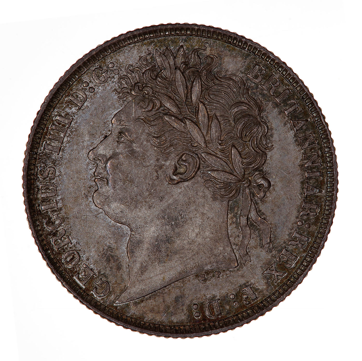 Shilling George IV First Issue: Photo Coin - Shilling, George IV, Great Britain, 1821