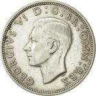 Halfcrown 1946: Photo 1946 George VI British Silver Half Crown