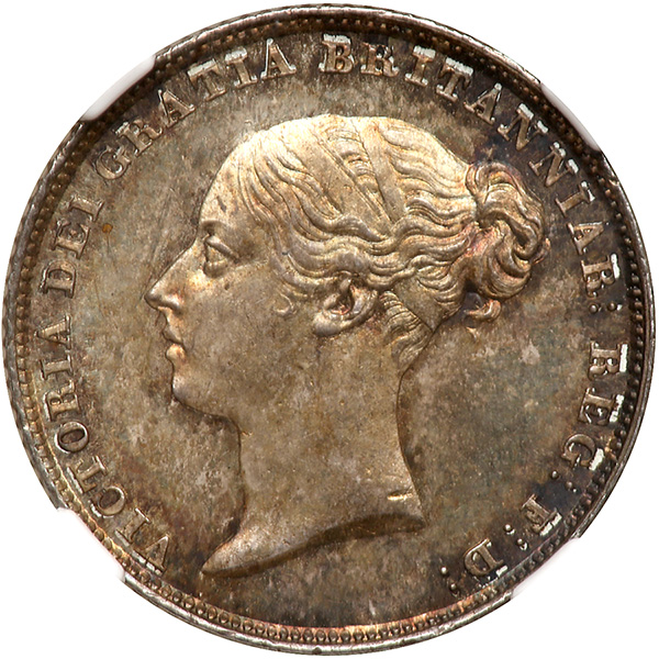 Sixpence 1852: Photo Great Britain 1852 6 pence