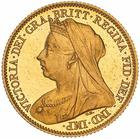 United Kingdom / Half Sovereign 1901 - obverse photo