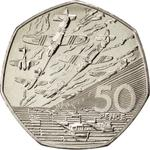 United Kingdom / Fifty Pence 1994 D-Day - reverse photo