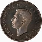 Shilling 1949 English: Photo Proof Coin - Shilling, George VI, Great Britain, 1949
