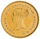 Five Shillings 1853: Photo Gold 5 shillings, Great Britain, 1853