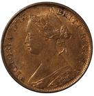 United Kingdom / Halfpenny 1861 / Obverse 4, Reverse E (Freeman 270) - reverse photo