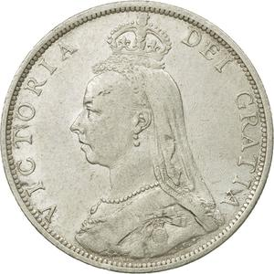 United Kingdom / Florin 1892 - obverse photo