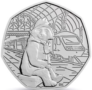 United Kingdom / Fifty Pence 2018 Paddington Bear at the Station - reverse photo