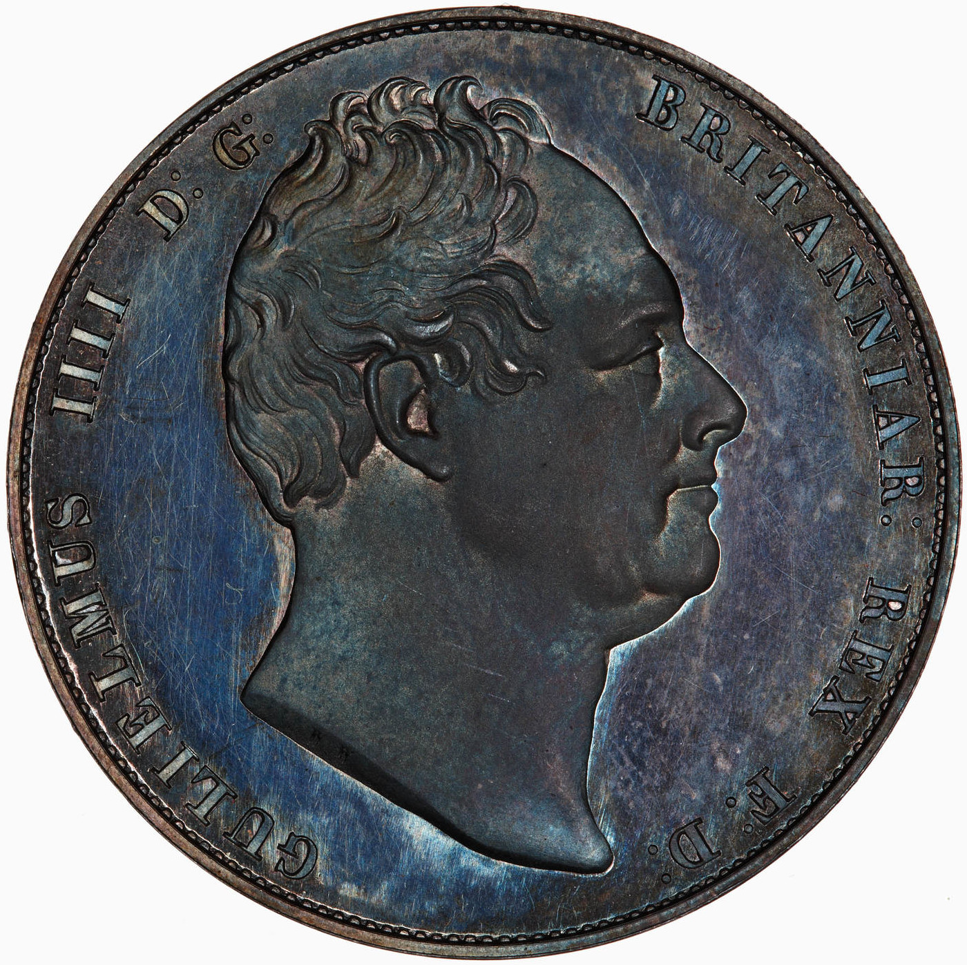 Halfcrown 1831 (Proof only): Photo Proof Coin - Halfcrown, William IV, Great Britain, 1831
