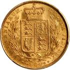 Sovereign 1849: Photo Great Britain 1849 sovereign
