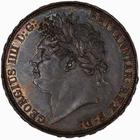Crown 1822: Photo Coin - Crown, George IV, Great Britain, 1822