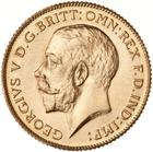 Half Sovereign 1923 (Proof only): Photo Proof Coin - 1/2 Sovereign, South Africa, 1923