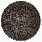 Shilling 1901: Photo Coin - Shilling, Queen Victoria, Great Britain, 1901
