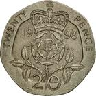 United Kingdom / Twenty Pence 1998 - reverse photo