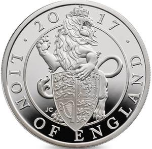 United Kingdom / Silver Ounce, One year types - reverse photo