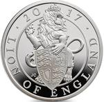 United Kingdom / Silver Ounce 2017 Lion of England - reverse photo