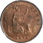 Penny 1879: Photo Great Britain 1879 penny