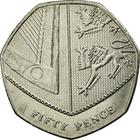 United Kingdom / Fifty Pence 2014 - reverse photo