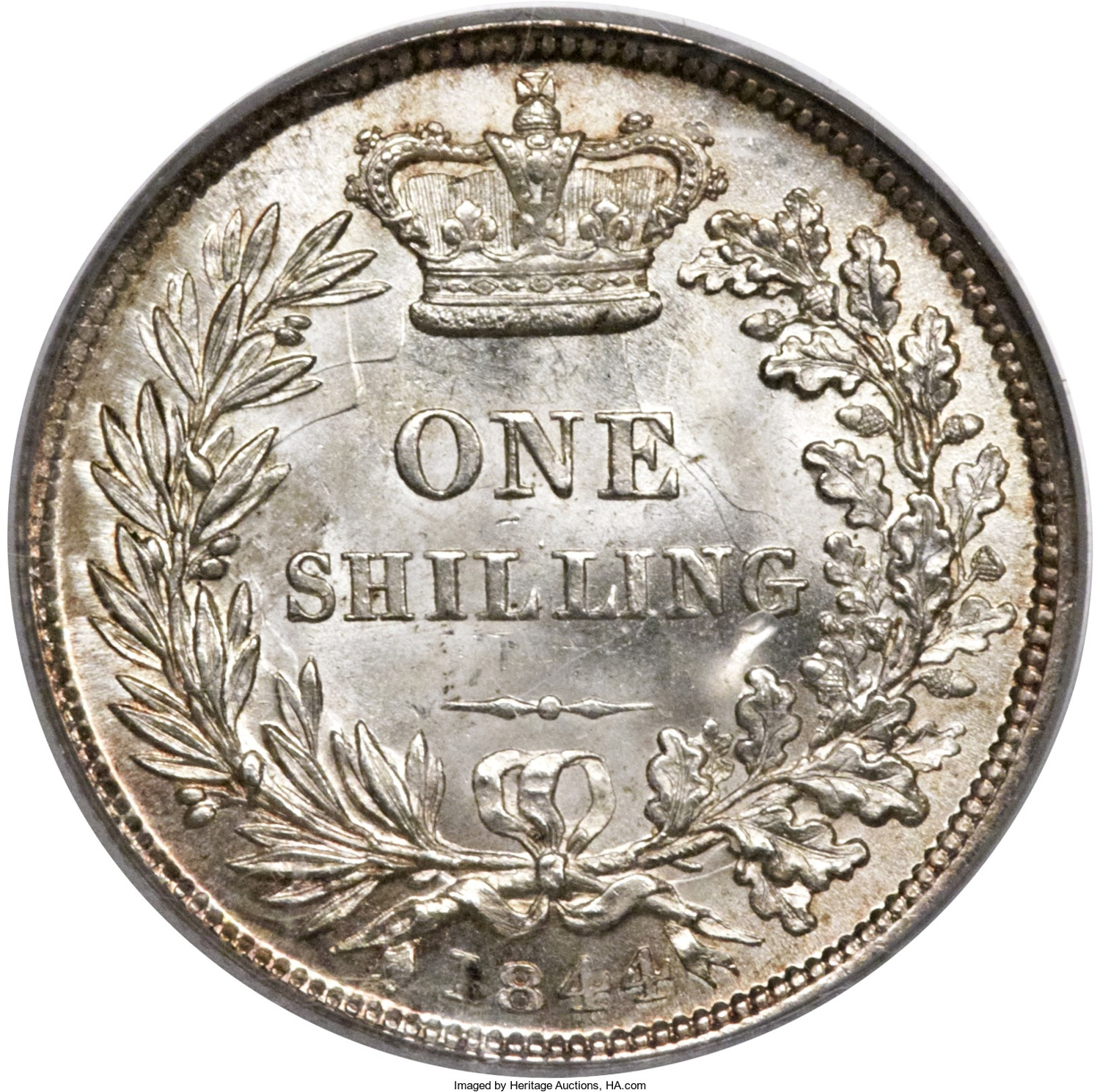 Shilling 1844: Photo Great Britain 1844 shilling