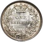 United Kingdom / Shilling 1844 - reverse photo