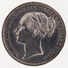 Shilling 1883: Photo Silver shilling, Great Britain