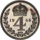 United Kingdom / Fourpence 1946 (Maundy) - reverse photo