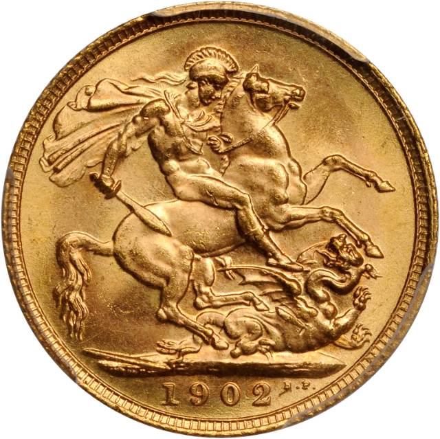 Sovereign 1902: Photo Great Britain 1902 sovereign
