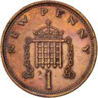 United Kingdom / One Penny 1973 - reverse photo