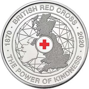 United Kingdom / Five Pounds 2020 Red Cross - reverse photo